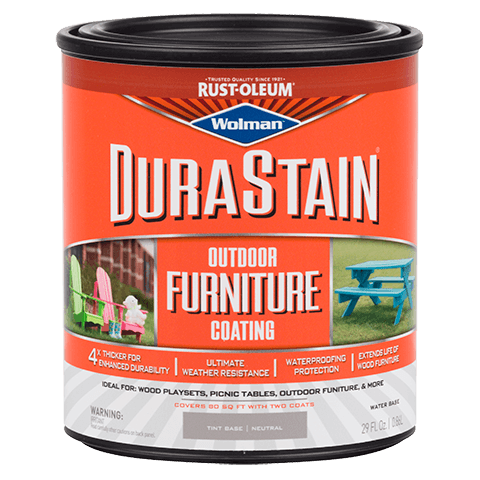 DuraStain Outdoor Furniture